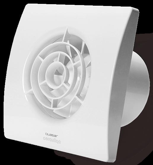 Тихий вентилятор Aerauliqa QUASAR N (95м3/ч,Ø100мм,25дБ,подшипник скольж.)