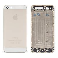Корпус крышка + рамка для iPhone 5S Gold