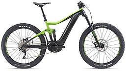 Электровелосипед Giant Trance E+ 3 Pro 25km/h зеленый/черный (GT)