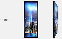 """Дзеркальна міжкімнатні двері серії """"Фото"""" фабрики Аксіома модель 10F"""