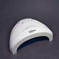 LED /UV Лампа для ногтей SunOne 48Вт, белая