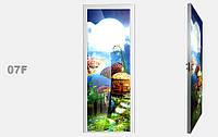 """Дзеркальна міжкімнатні двері серії """"Фото"""" фабрики Аксіома модель 07F"""