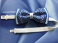 Бабочка с синим орнаментом, фото 1