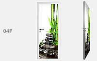 """Дзеркальна міжкімнатні двері серії """"Фото"""" фабрики Аксіома модель 04F"""
