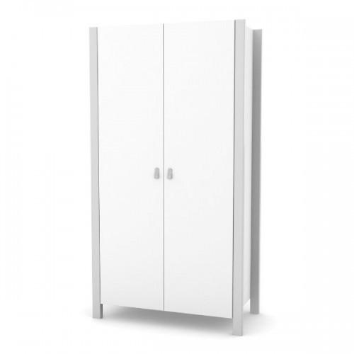 Детский шкаф Верес Монако (белый-серый)