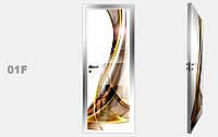 """Дзеркальна міжкімнатні двері серії """"Фото"""" фабрики Аксіома модель 01F"""