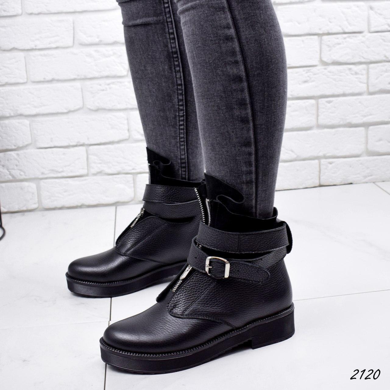 Черевики жіночі чорні, туфлі з НАТУРАЛЬНОЇ ШКІРИ. Черевики жіночі чорні з натуральної шкіри утеплені