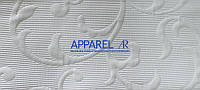 Мебельная ткань LAMINES   WHITE  жаккард (производство Аппарель)