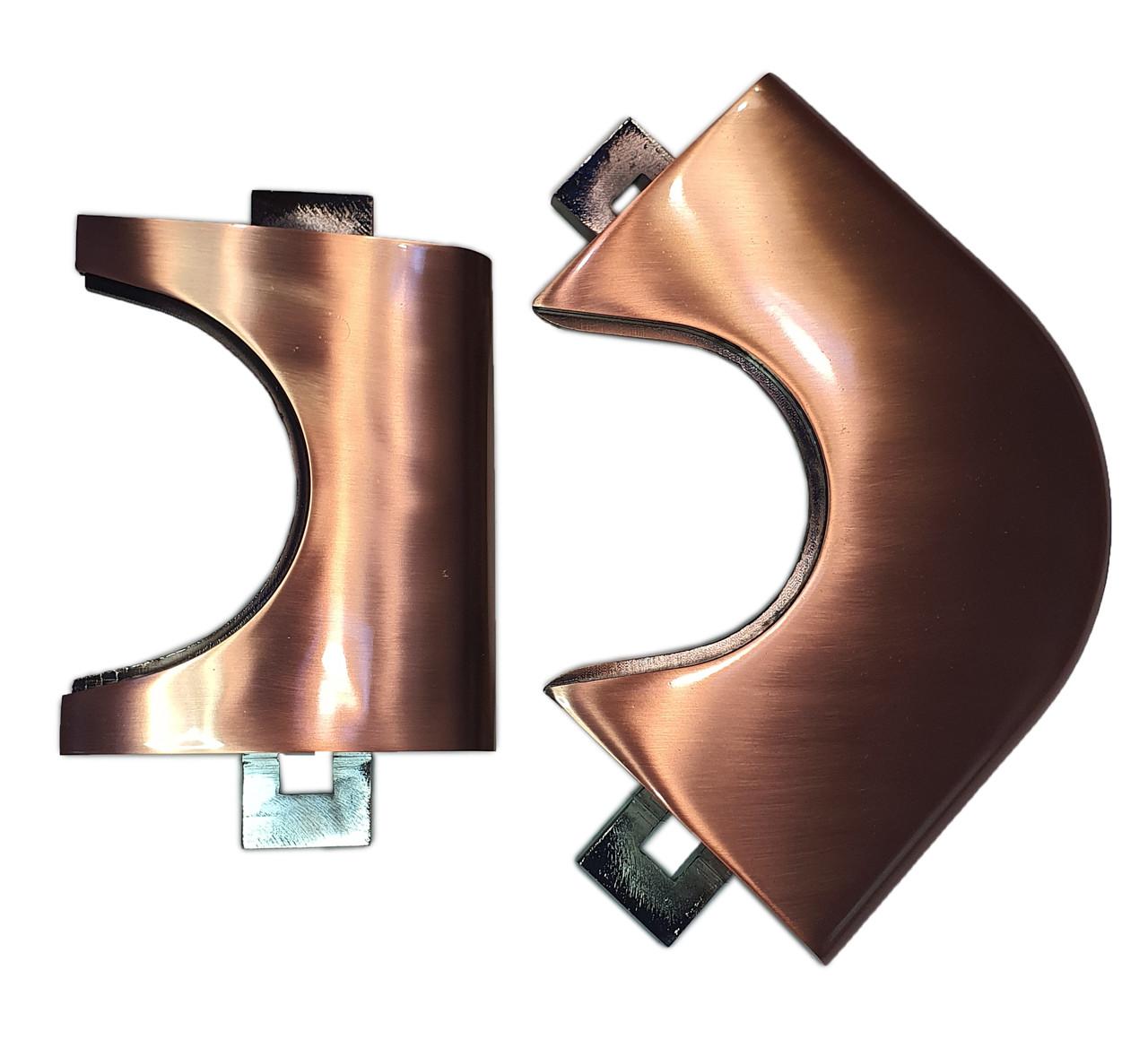 Лузи-накладки для пулу бронзові (металеві куточки)