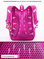 Рюкзак школьный для девочки ортопедический в 1-4 класс Пони Единогор Winner One R1-005, фото 2