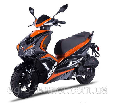 Скутер, мотоцикл Forte FANTASY 125CC помаранчевий