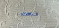 Мебельная ткань LAMINES   CREM  жаккард (производство Аппарель)