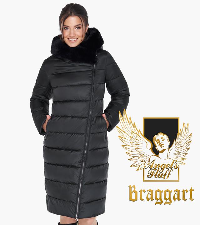 Воздуховик Braggart Angel's Fluff 31049   Куртка зимняя женская черная