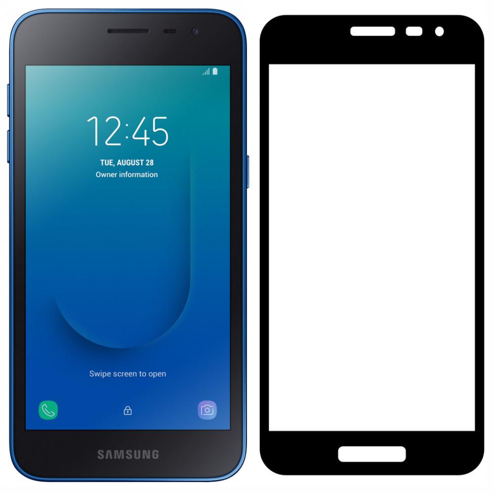 Захисне скло для Samsung Galaxy J2 Core / J260 (Чорний)