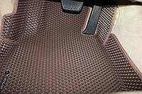 Автомобильный коврик EVA водительский (1 коврик) 3D Ligth высота бортика 5 см (под Ваш автомобиль)