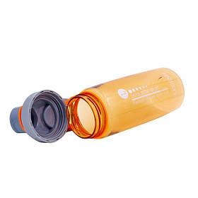 Бутылка для воды спортивная SP-Planeta 700 мл FI-6426 (TRITAN, PP, коричневый)