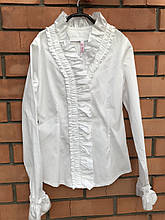Школьная рубашка для девочки Школьная форма для девочек BAEL Украины 5729 146