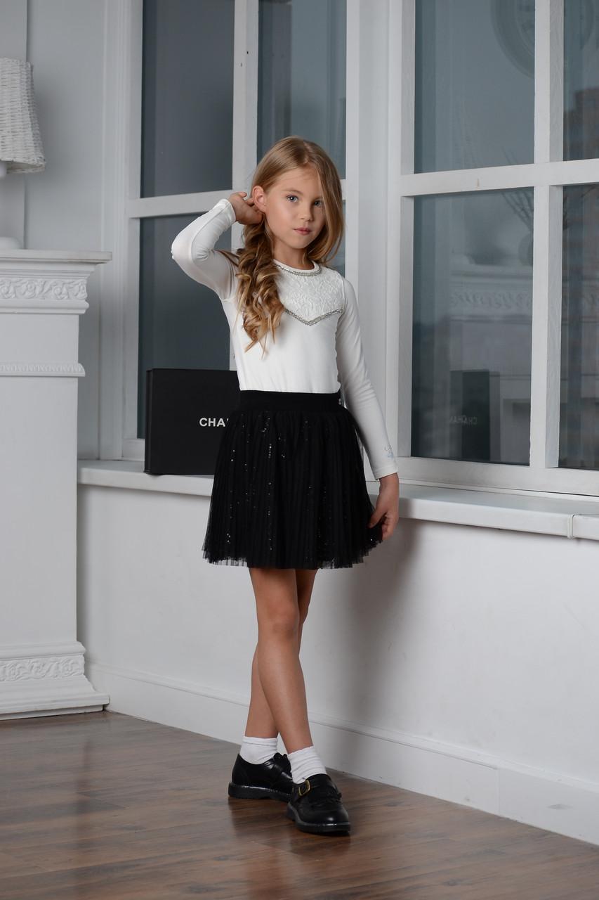 Детские юбки для девочки Byblos Италия BJ4502 черный 116, черный, 2578