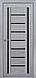 """Дверь межкомнатная остеклённая новый стиль Итальяно """"Флоренция С2 BLK,BR,GRF"""" 60-90 см жемчуг кофейный, фото 2"""