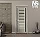 """Дверь межкомнатная остеклённая новый стиль Итальяно """"Флоренция С2 BLK,BR,GRF"""" 60-90 см жемчуг кофейный, фото 6"""