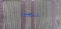 Мебельная ткань LAMINES  STRIPE LILAC 1002  жаккард (производство Аппарель)