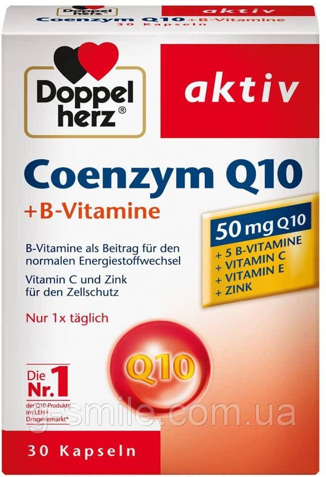 Doppelherz  Coenzym Q 10 + B-Vitamine Kapseln, 30 St