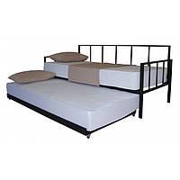 Диван-кровать металлическая с дополнительным спальным местом Грета ТМ Melbi