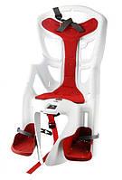 Детское велокресло Bellelli Mr Fox Clamp White-Red Италия