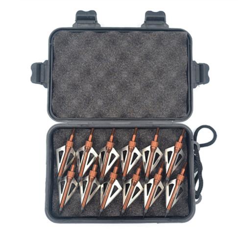 Наконечники для стріл з нержавіючої сталі для полювання 12 шт