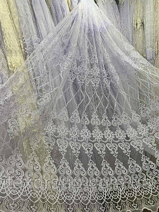 Фатиновый тюль Корт №033 белая, фото 2