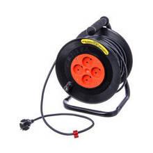 Подовжувач-переноска електрична на котушці 50м ПЕР50Б