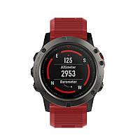 Силиконовый ремешок для спортивных часов, Подходит к моделям: fenix 5x Plus, fenix5x, fenix3 CC1763-35