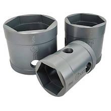 Головка ступичная усиленная (6-гранная) 115мм (ХЗСО) WHS6115