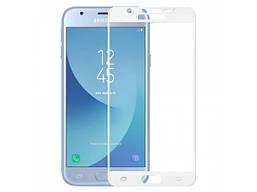 Захисне скло для Samsung J3 2017 / J330 / J3 Pro (Білий)