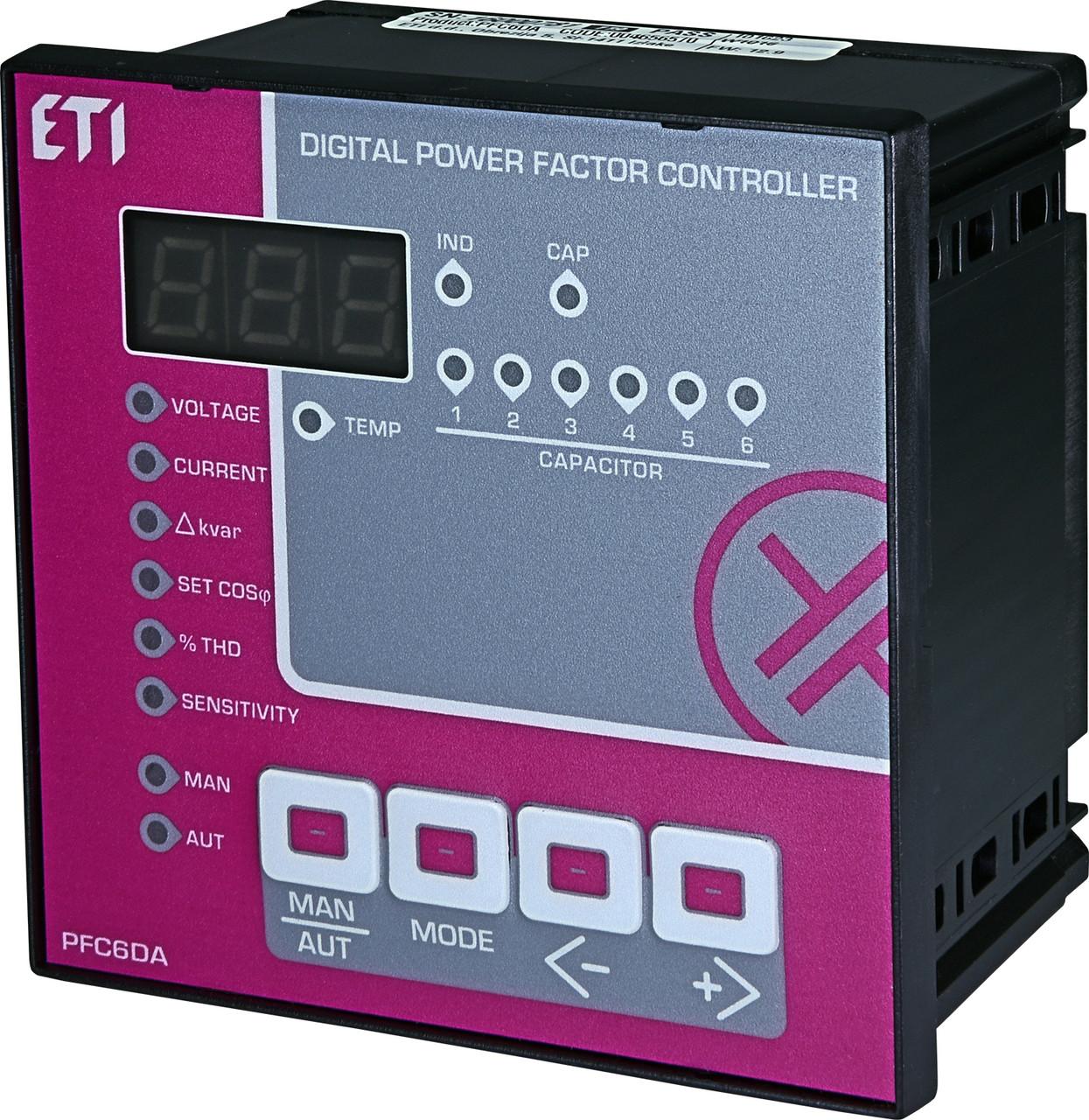 PFC 6DA ETI регулятор реактивной мощности
