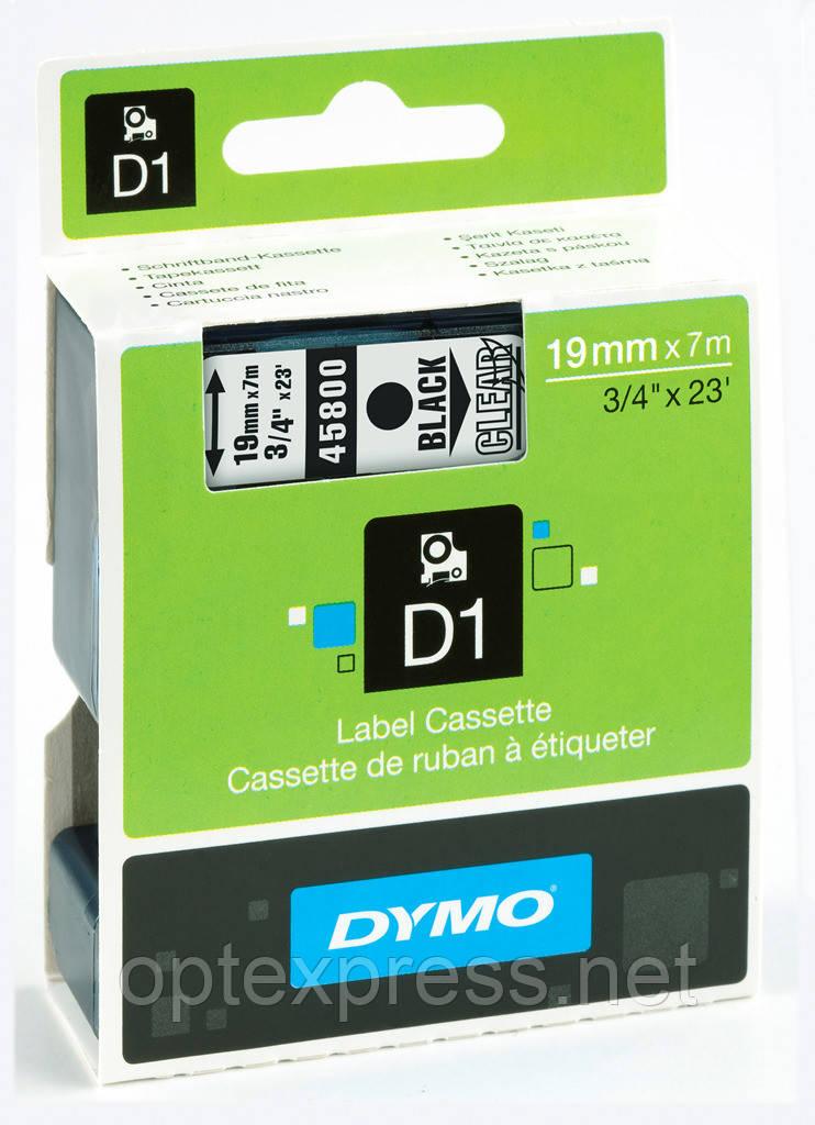 Картридж  S0720820 с пластиковой лентой системы D1 для  термопринтеров DYMO 19 мм х 7 м
