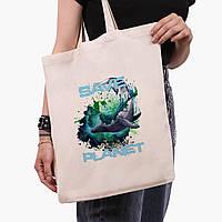 Эко сумка шоппер Экология (Ecology) (9227-1337) экосумка шопер 41*35 см