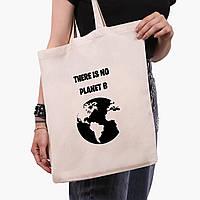 Эко сумка шоппер Экология (Ecology) (9227-1333)  экосумка шопер 41*35 см , фото 1