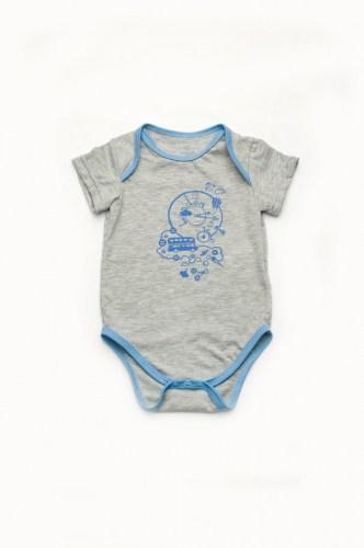 Боди из кулира для новорожденных мальчиков