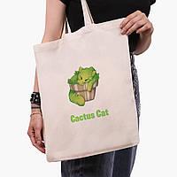 Еко сумка шоппер Екологія (Ecology) (9227-1335) екосумка шопер 41*35 см, фото 1