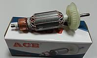 Якорь (ротор) для УШМ Bosch 6-100 ( 154*35 посадка 6мм)
