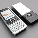 Мобільний телефон Nokia 6300 Корпус сталь! КОПІЯ!, фото 3