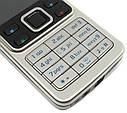 Мобільний телефон Nokia 6300 Корпус сталь! КОПІЯ!, фото 5