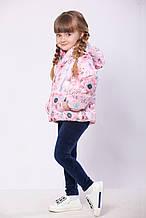 Куртка дитяча жилетка для дівчинки