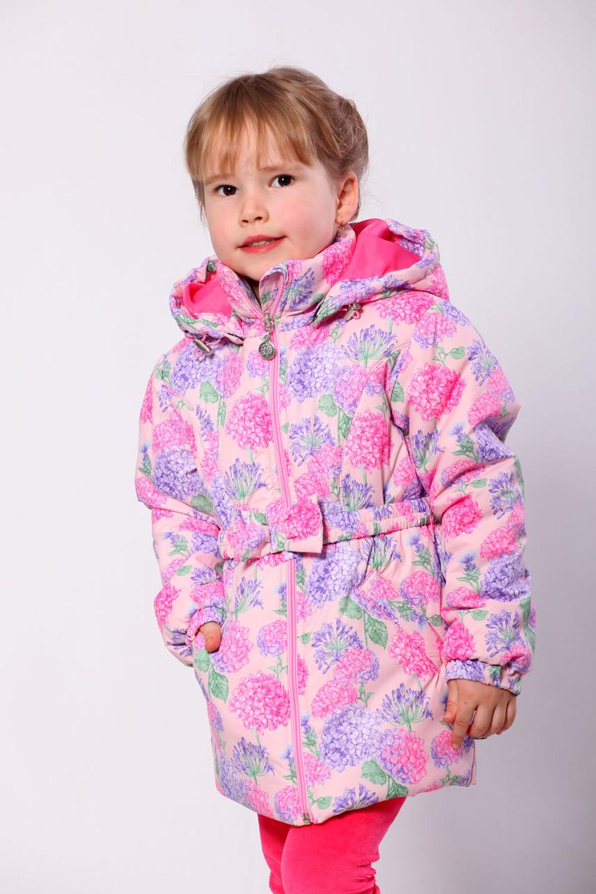 """Куртка для дівчинки демісезонна """"Гортензія"""""""