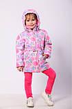 """Куртка для дівчинки демісезонна """"Гортензія"""", фото 2"""