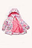 """Куртка для дівчинки демісезонна """"Гортензія"""", фото 4"""