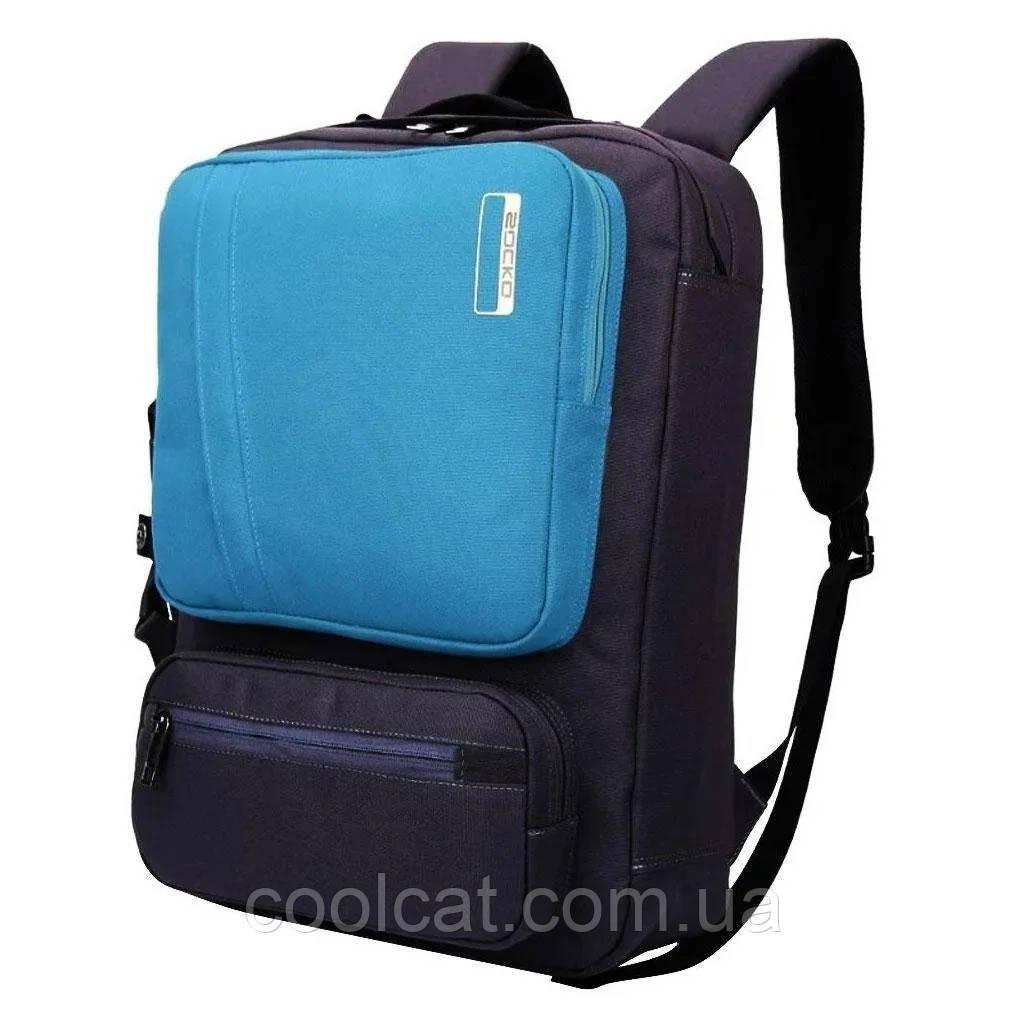 Рюкзак для ноутбука Socko + ПОДАРОК! / Городской рюкзак / Портфель  (46х33х13 см.)