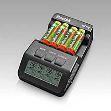 Зарядний пристрій інтелектуальний для АА та ААА MT100 MastAK