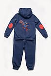 Утеплений спортивний костюм для хлопчика, фото 5